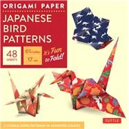 Origami Paper - Japanese Bird Patterns - 6 3/4