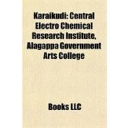 Karaikudi : Central Electro Chemical Research Institute, Alagappa Government Arts College by , 9781156844892