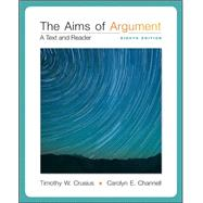 Aims of Argument: Text and Reader w/ Connect Composition Essentials 3.0 Access Card by Crusius, Timothy; Channell, Carolyn, 9781259284892