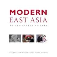 Modern East Asia An Integrated History