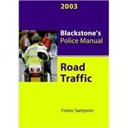 Road Traffic, 2003 by Sampson, Fraser, 9780199254903