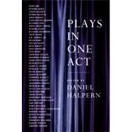 Plays in One Act by HALPERN D (ED), 9780880014908
