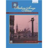 Twenty-Six Italian Songs and Arias by Paton, John G., 9780882844909
