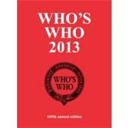 Who's Who 2013 by Who's Who, 9781408154915