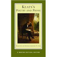 Keat's Poetry & Prose Nce Pa by Keats,John, 9780393924916