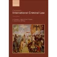 Cassese's International Criminal Law by Cassese, Antonio; Gaeta, Paola, 9780199694921