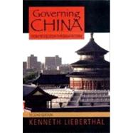 Governing China 2E Pa by Lieberthal,Kenneth, 9780393924923