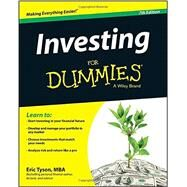Investing for Dummies by Tyson, Eric, 9781118884928