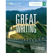 Great Writing: From Great Paragraphs to Great Essays by Foley, Barbara H., 9781285194929