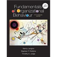 Fundamentals of Organizational Behaviour by Unknown, 9780134204932