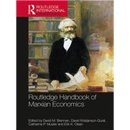 Routledge Handbook of Marxian Economics by Brennan; David, 9781138774933