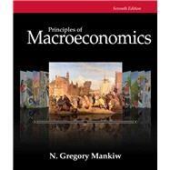 Bundle: Principles of Macroeconomics, 7th + Aplia Printed Access Card by Mankiw, 9781305134935