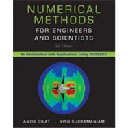 Numerical Methods for Engineers and Scientists by Gilat, Amos; Subramaniam, Vish (COL), 9781118554937