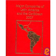 Major Companies of Latin America and the Carribean 2007 by Brewin, Heather, 9781860994937