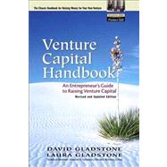Venture Capital Handbook An Entrepreneur's Guide to Raising Venture Capital, Revised and Updated Edition