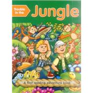 Trouble in the Jungle (outsize) First Reading Books For 3-5 Year Olds by Baxter, Nicola; Ball, Geoff, 9781861474940