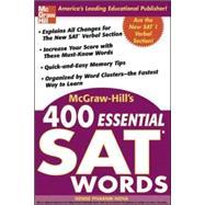 McGraw-Hill's 400 Essential SAT Words by Pivarnik-Nova, Denise, 9780071434942