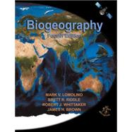Biogeography by Lomolino, Mark V., 9780878934942