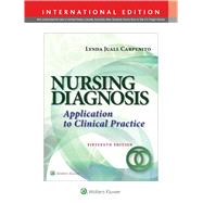 Nursing Diagnosis by Carpenito, Lynda Juall, 9781496344946