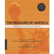 The Measure of America by Burd-Sharps, Sarah, 9780231154956