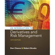 Introduction to Derivatives and Risk Management (with Stock-Trak Coupon) by Chance, Don M.; Brooks, Roberts, 9781305104969