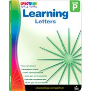Spectrum Learning Letters by Carson-dellosa Publishing, 9781936024971