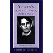 YEATS POETRY & PROSE NCE PA by YEATS,WILLIAM BUTLER, 9780393974973