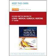 Elsevier Adaptive Quizzing for Lewis Medical-surgical Nursing (36-month) by Lewis, Sharon L.; Dirksen, Shannon Ruff; Heitkemper, Margaret M.; Bucher, Linda; Elsevier, 9780323244978