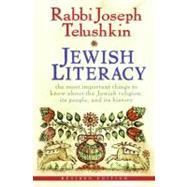 Jewish Literacy by Telushkin, Joseph, 9780061374982