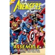 Avengers Assemble - Volume 1 by Chen, Sean; Kubert, Andy; Aucoin, Derec; Busiek, Kurt; Waid, Mark, 9780785144984