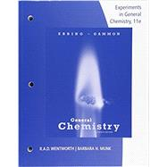 Lab Manual Experiments in General Chemistry by Wentworth, 9781305944985