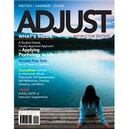 ADJUST (with CourseMate, 1 term (6 months) Printed Access Card) by Weiten , Wayne; Hammer, Elizabeth Yost; Dunn, Dana S., 9781133594987
