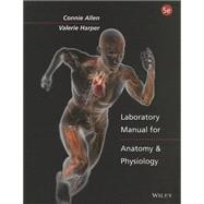Laboratroy Manual for Anatomy and Physiology by Allen, Connie, 9781118344989