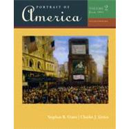 Portrait of America, Volume II by Oates, Stephen; Errico, Charles J., 9780495914990