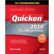 Quicken 2010 The Official Guide by Langer, Maria, 9780071634991