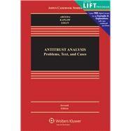 Antitrust Analysis Problems, Text, and Cases by Areeda, Phillip; Kaplow, Louis; Edlin, Aaron, 9781454824992