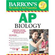 Barron's AP Biology by Goldberg, Deborah T., 9781438005003
