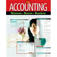 Accounting by Warren, Carl S.; Reeve, James M.; Duchac, Jonathan, 9780538475006