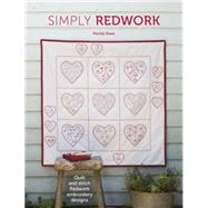 Simply Redwork by Shaw, Mandy, 9781446305027
