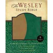 New Revised Standard Version - NRSV - the Welsey Study Bible : Imitation Leather - Tan/Green by Green, Joel B., 9780687645039