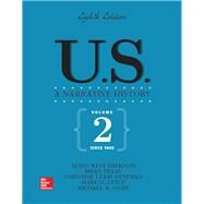 U.S. NARRATIVE HISTORY VOL 2: SINCE 1865 by Unknown, 9781260025040