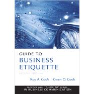 Guide to Business Etiquette by Cook, Gwen O, 9780137075041