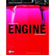 Automotive Engine Performance by Halderman, James D., 9780135085042