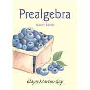 Prealgebra by Martin-Gay, Elayn El, 9780321955043