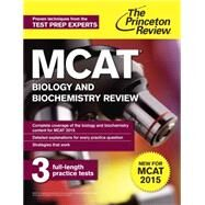 MCAT Biology and Biochemistry Review by PRINCETON REVIEW, 9780804125048