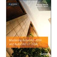 Mastering AutoCAD 2014 Autodesk Official Press by Omura, George; Benton, Brian C., 9781118575048