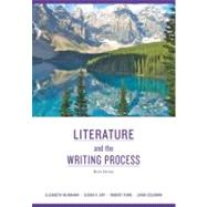 Literature and the Writing Process by McMahan, Elizabeth Deceased; Day, Susan X.; Funk, Robert W.; Coleman, Linda S., 9780205745050