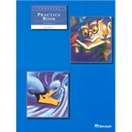 Trophies Practice Book: Grade 1 by Harcourt, 9780153235054