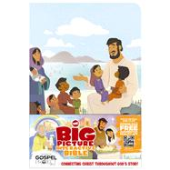 The Big Picture Interactive Bible for Kids, Jesus Edition LeatherTouch Connecting Christ Throughout God's Story by Unknown, 9781433605062