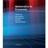 Mathematics for Economics by Hoy, Michael; Livernois, John; McKenna, Chris; Rees, Ray; Stengos, Thanasis, 9780262015073